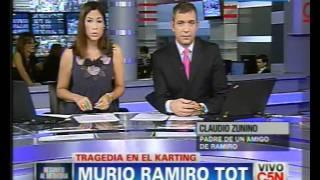 C5N - SOCIEDAD - MURIO RAMIRO TOT: HABLA ALLEGADO A LA FAMILIA