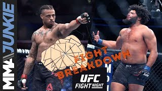 UFC on ESPN 4 fight breakdown: Greg Hardy vs. Juan Adams