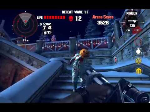 Dead Trigger 1 Bloody Xmas Arena Wave 23 Nvidia Shield Tablet