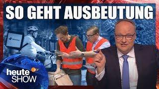 Millionen Deutsche werden um den Mindestlohn beschissen | heute-show vom 04.05.2018