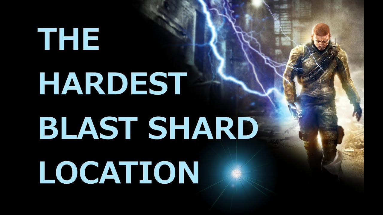 The Hardest/Trickiest Blast Shard Location - inFamous on infamous last level, infamous ps3, infamous 2 bird locations, dead drop locations map, blast shards ps3 map, infamous 1 shard locations, lost hatch map, infamous dead drops, dead town jak 2 map, infamous 2 pigeon locations, harvard map,