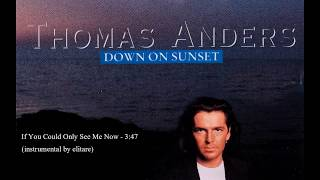 Thomas Anders - If You Could Only See Me Now (instrumental by elitare)