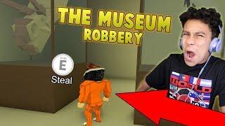 MUSEUM ROBBERY IN JAILBREAK UPDATE?! (Roblox Jailbreak)
