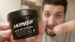 LUSH Cosmetics Review | Kalamazoo Beard and Facial Wash