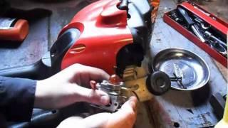 HOW TO CLEAN A Craftsman Trimmer Carburetor  Part 2/2