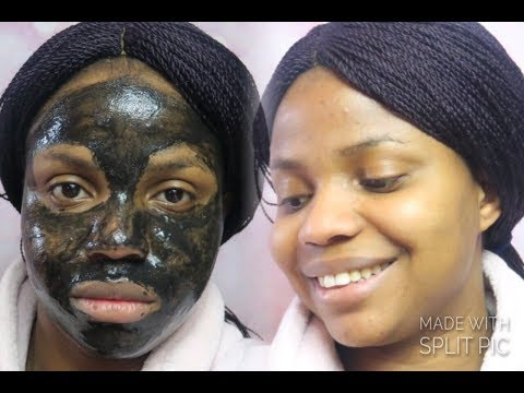 FIRST TIME USING A BLACK PEEL OFF MASK Ft. Beauty Formulas Charcoal Facial Mask