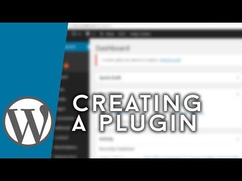 WordPress – Making a Basic Plugin