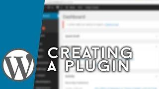 WordPress - Making a Basic Plugin