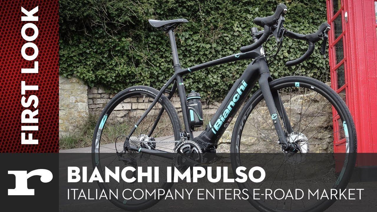 ec007777ec6 First Look - Bianchi Impulso E-Road - YouTube