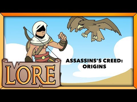 ASSASSIN'S ​​CREED:​​ Origins​​​ | ​​LORE ​​in​ ​a ​​Minute! ​​|​ ​The ​​Last ​​Medjay |​ LORE