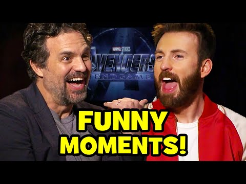 AVENGERS ENDGAME Cast Funny Interviews