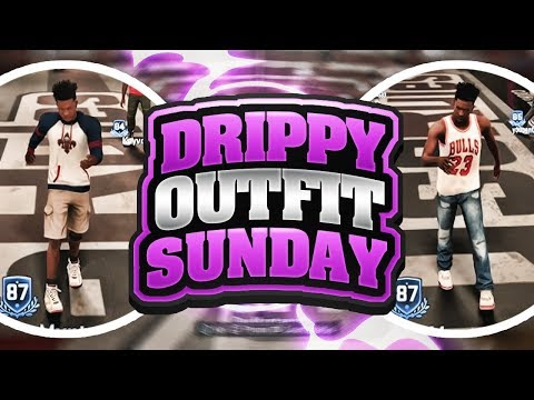 THE FIRST DRIPPY OUTFIT SUNDAY OF NBA 2K18 PARK💦! THE SWAGGIEST CUSTOM OUTFITS EVER! GOATED FITS🐐!