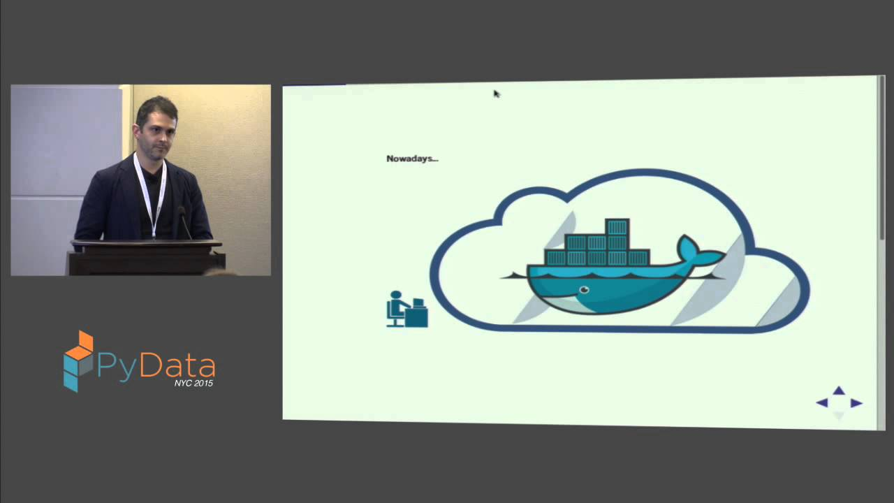 Image from Ryan J. O'Neil: Optimize your Docker Infrastructure with Python