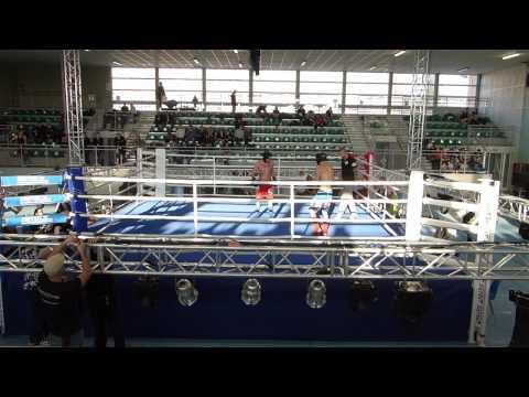 [18] Muay Thai [B] [do 75 kg Seniorzy] Franciszek Słupski vs Łukasz Beczkowski