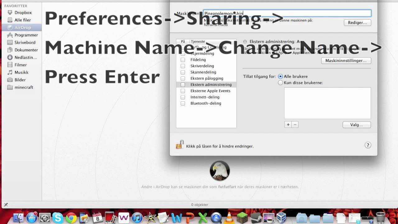 Change airdrop name mac youtube change airdrop name mac ccuart Image collections