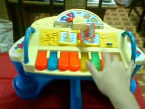 fisher price rock play piano youtube. Black Bedroom Furniture Sets. Home Design Ideas