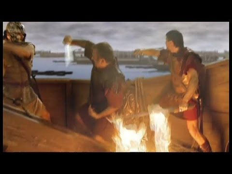 Moments in Time 4of8 Anthony and Cleopatra Battle at Actium