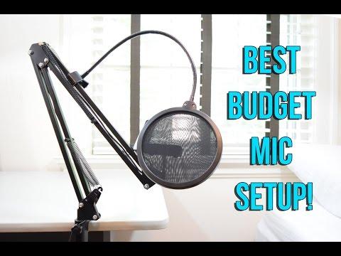 best-microphone-setup-under-$50!