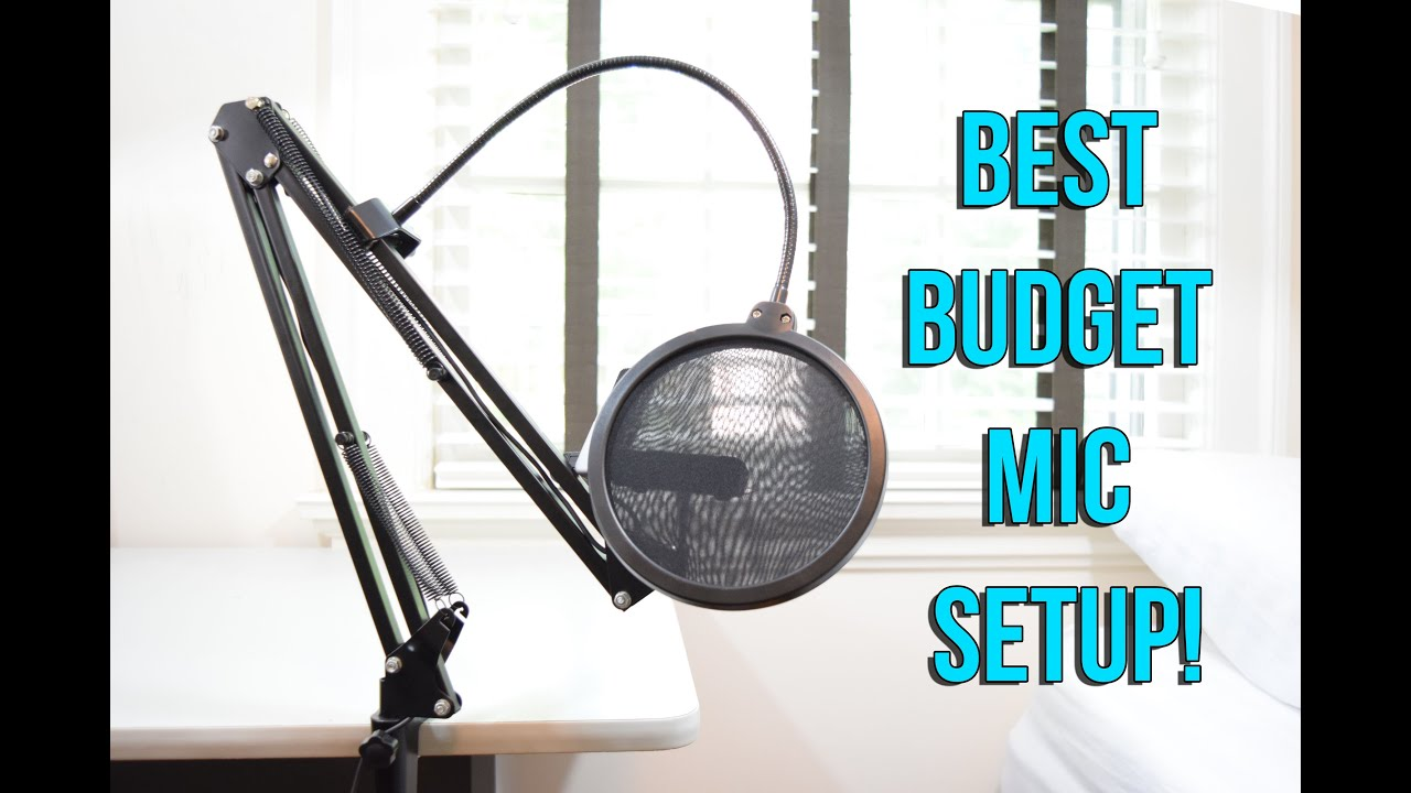 Best Microphone Setup Under 50 Youtube