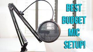 Best Microphone Setup Under $50!