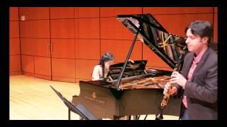 Poulenc Clarinet Sonata III. Allegro con Fuoco