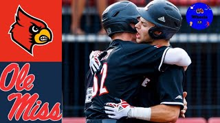 #2 Louisville vs #23 Ole Miss (Game 1) | 2020 College Baseball Highlights