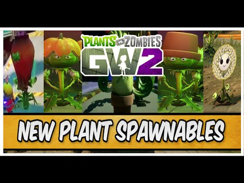 Plants vs Zombies Garden Warfare 2 - NEW PLANTS SPAWNABLES ...