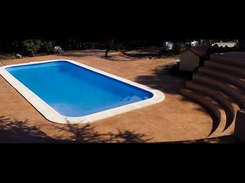 Piscinas prefabricadas youtube for Piscinas prefabricadas