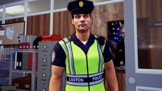 First Day as a Cop, and I got Arrested - Police Simulator