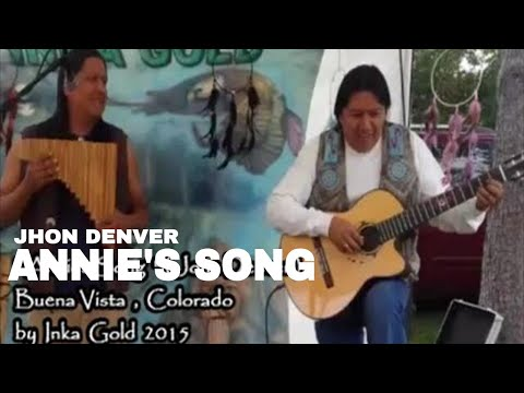 Annie's song - Jhon Denver | Pan flute and guitar version by Inka Gold