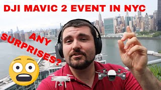 DJI MAVIC PRO 2 Event - A last minute SURPRISE?