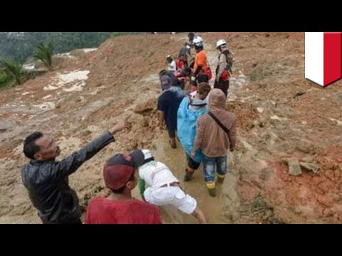 Illegal gold mine in Indonesia collapses trapping 43 - TomoNews