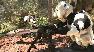 ПОЛЕТ НА СПИДЕРАХ! Star Wars: Battlefront — На русском! #1(HD) Играем первыми
