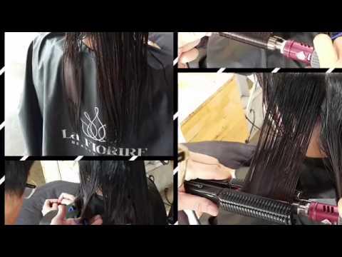 best hair salon in kuala Lumpur, glam perm,setting perm, Volum rebonding la fiorire