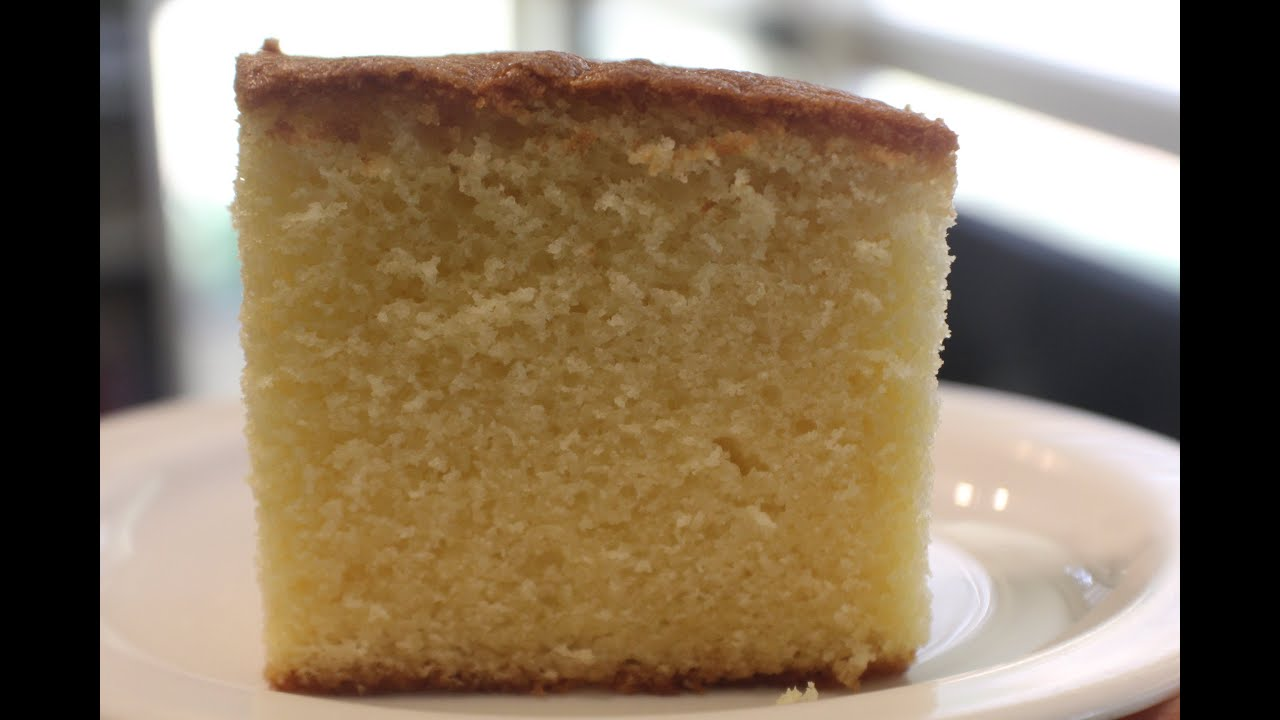 Baking Simple Butter Cake