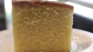 Sour Cream Butter cake (Simple Baking)
