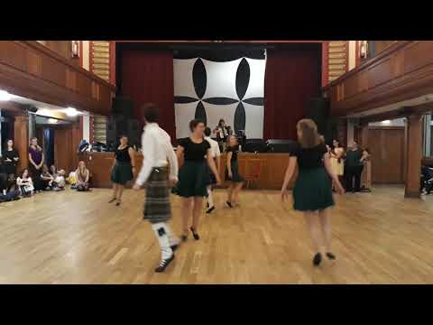 Taster Session 2017 Demonstration Glasgow University Scottish Country Dance Club