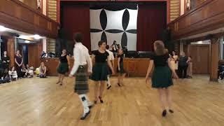 Taster Session 2017 Demonstration Glasgow University Scottish Country Dance Club