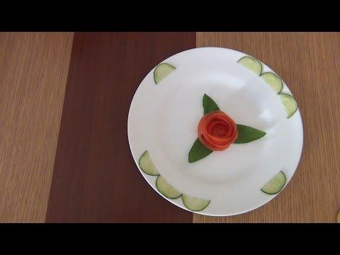 Hướng dẫn tỉa rau củ đơn giản từ cà chua và dưa leo