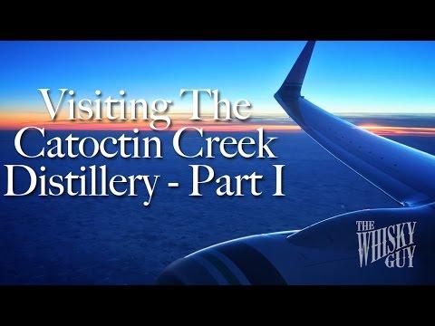Distillery Tours - Catoctin Creek In Purcellville, VA - Part I