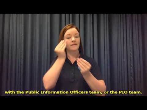 Vicki Bond talks about the Emergency Response Interpreter Credentialing (ERIC) Program!