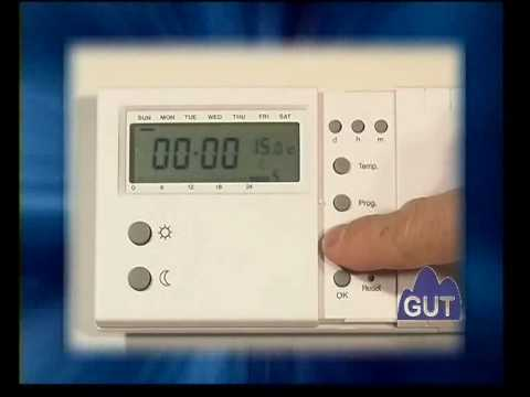 Tutorial programaci n manual termostato atp 1 doovi - Programador calefaccion siemens ...