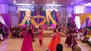 Sarah's Mehendi Dance Performance l Stony Brook Girls