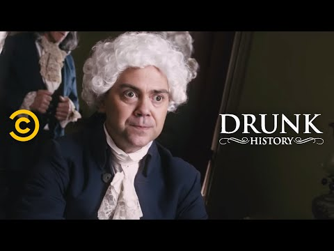 Drunk History - John Adams and Thomas Jefferson Had Beef