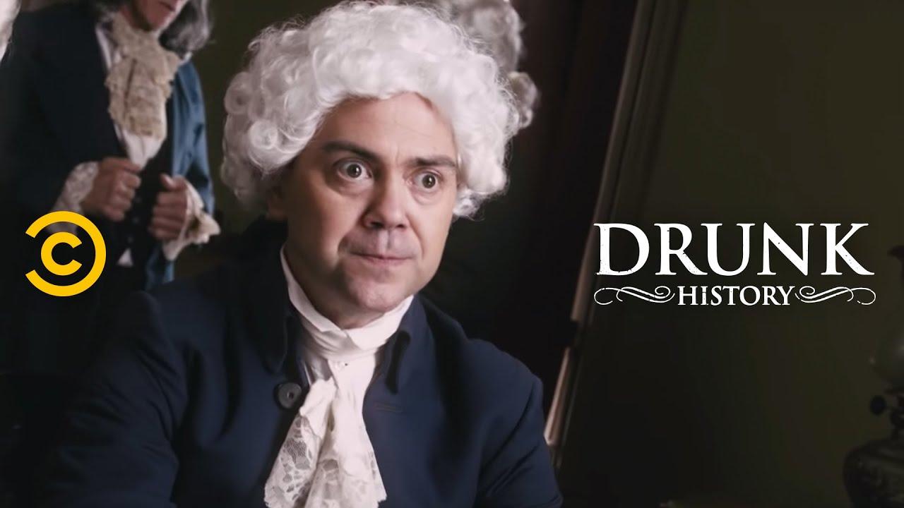 Drunk History John Adams And Thomas Jefferson Had Beef Youtube