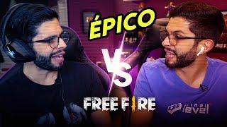 DUO DE FREE FIRE COM IRMÃO GÊMEO DO PLAYHARD!!!