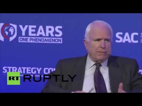 Slovakia: Russia is winning the 'information war' - Senator McCain