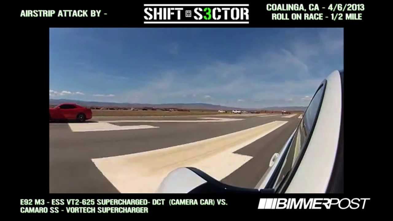 2013 Airstrip Attack: ESS VT2-625 M3 vs Supercharged Camaro SS