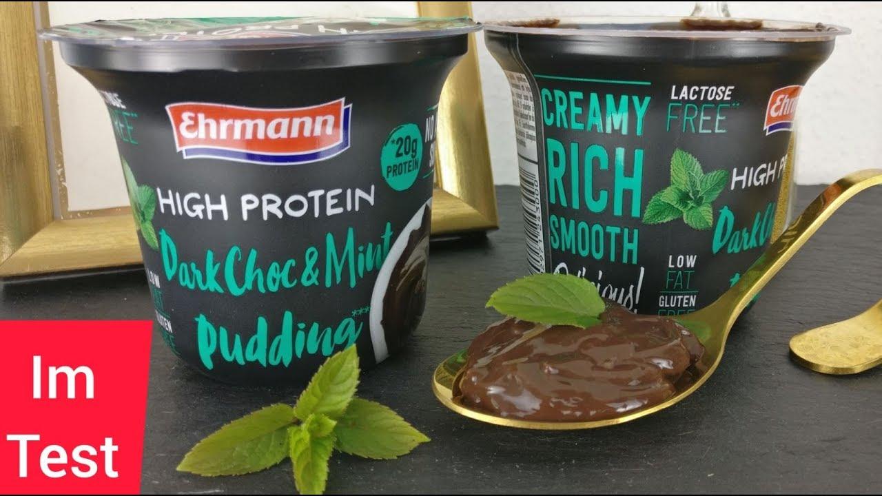 ehrmann protein pudding test