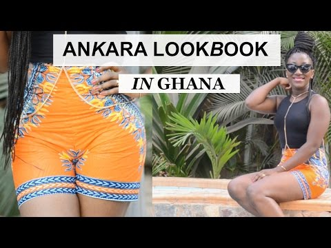 ANKARA LOOKBOOK || AFRICANPRINT LOOKBOOK || HOLIDAYS LOOKBOOK IN GHANA || ADEDE